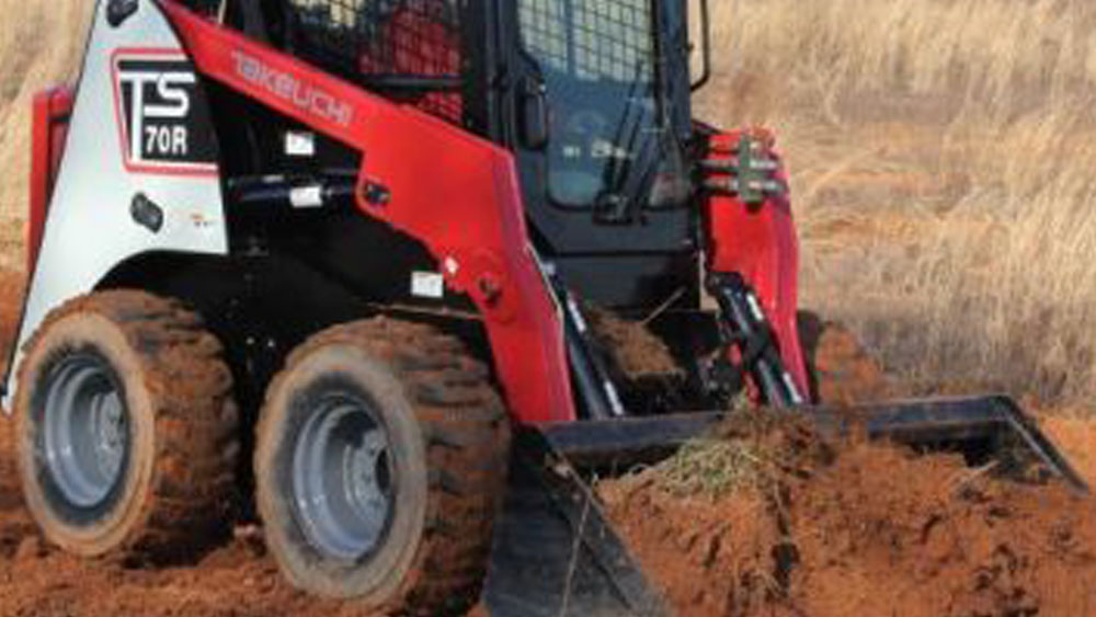 Skid Steer Dirt Work